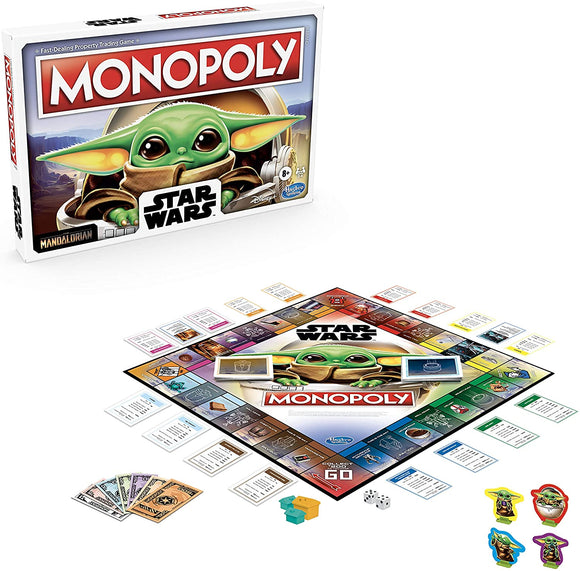 Monopoly Star Wars (Mandalorian Edition)