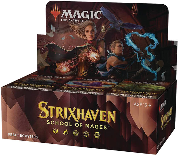 **PRE-ORDER **Magic the Gathering : Strixhaven Draft Booster