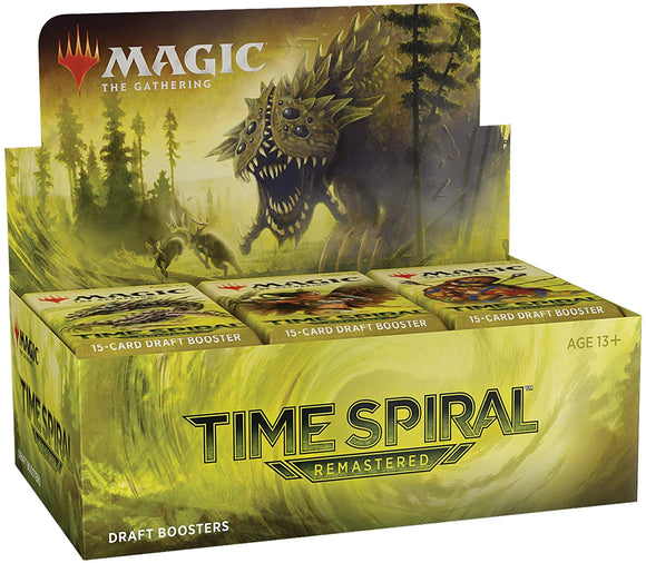 BACK IN STOCK!!  Magic the Gathering : Time Spiral Remastered Draft Booster