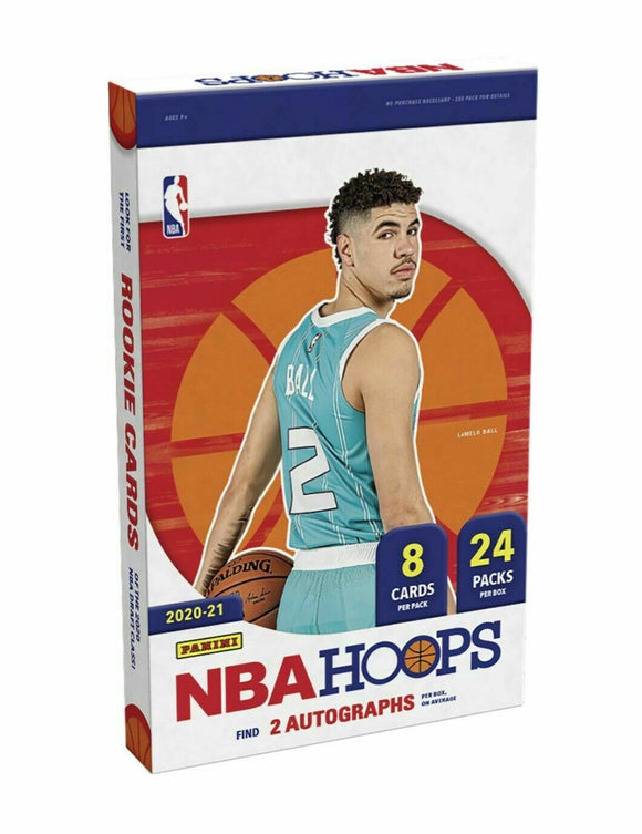 NBA Hoops 2020-2021 Hobby Box