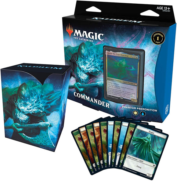 Magic the Gathering Kaldheim Commander Phantom Premonition