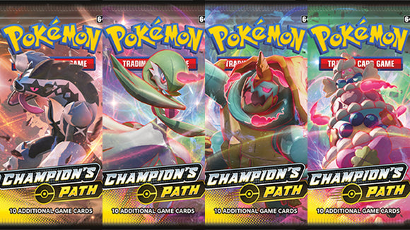 Pokemon Champion's Path Booster