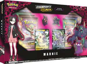 Pokemon Champion's Path Marnie Premium Box