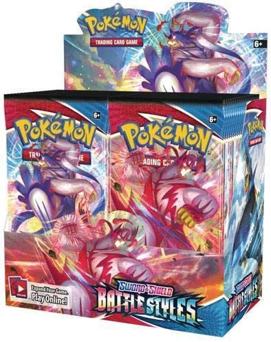 Pokemon Sword & Shield : Battle Styles Booster (Pack or Box)