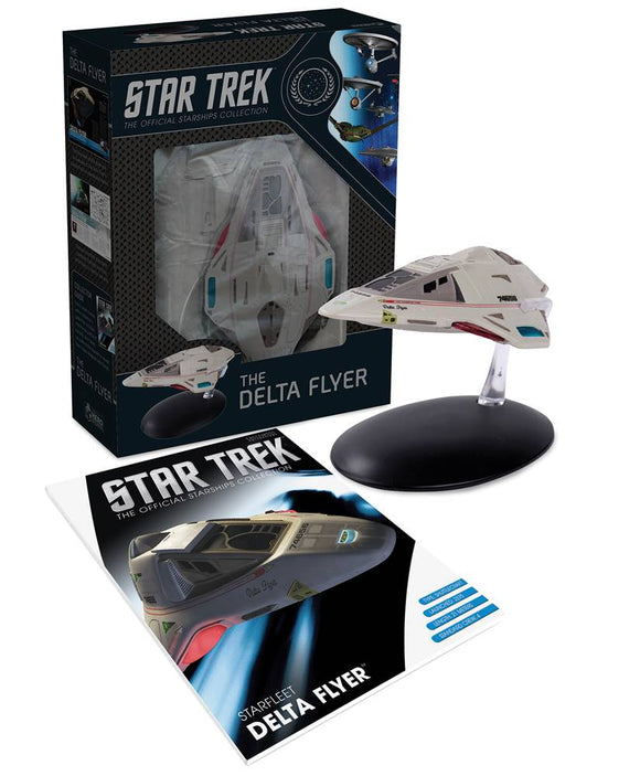 STAR TREK STARSHIPS BEST OF FIG #18 DELTA FLYER