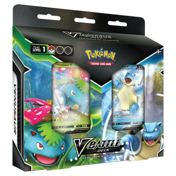 Pokemon V Battle Deck - Venusaur vs. Blastoise