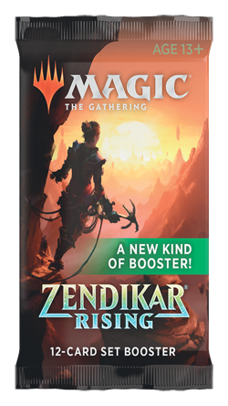 Magic the Gathering : Zendikar Rising Set Boosters