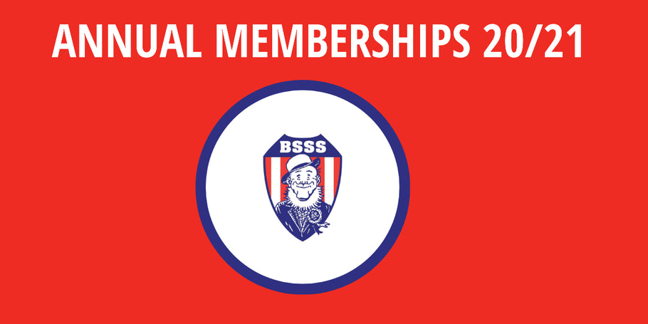 Annual Memberships Due for 2020/2021