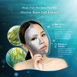 MEIN-V Marine Stem Cell Ingredient for Skin Benefit, Seagrape Extract and Seaweed Extract. Repairing sheet mask.