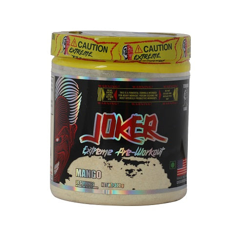 Terror Labz Joker, Extreme Pre-workout- Mango- 30 Serving