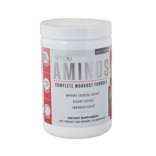 Simply Aminos Complete Workout Formula -watermelon - 35 Serving