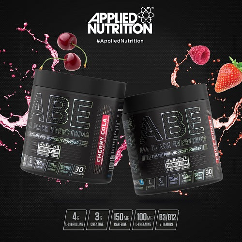 Applied Nutrition ABE Ultimate Pre-workout Powder- Fruit Punch- 30 Serving