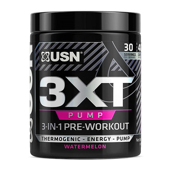 USN 3xt Pump 3-in-1 Pre Workout - Watermelon- 30 Serving