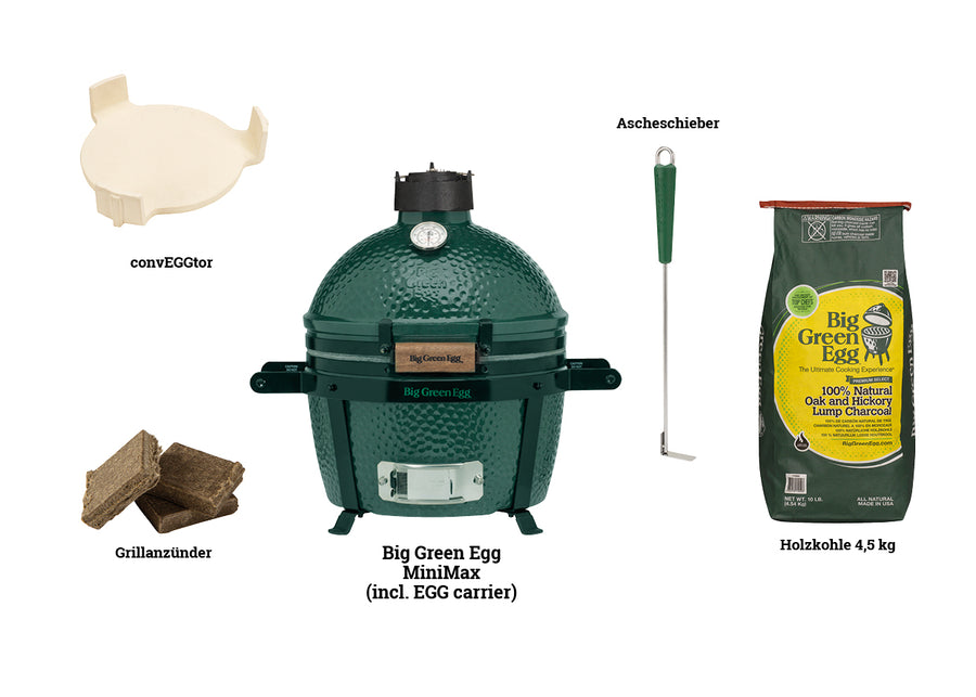 Big Green Egg MiniMax STARTER-PAKET
