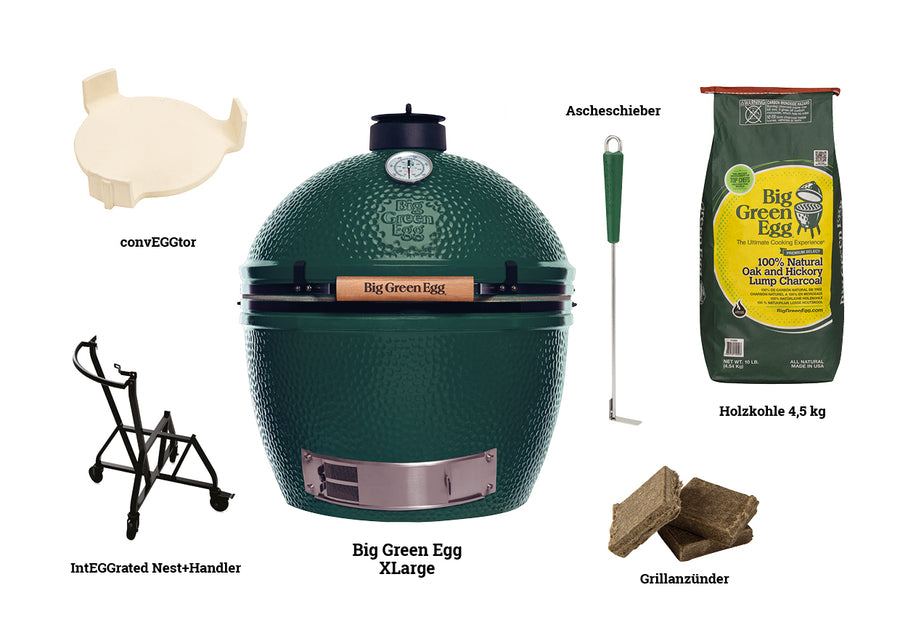 Big Green Egg XLarge STARTER-PAKET