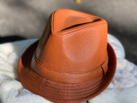 PU Leather Fedora
