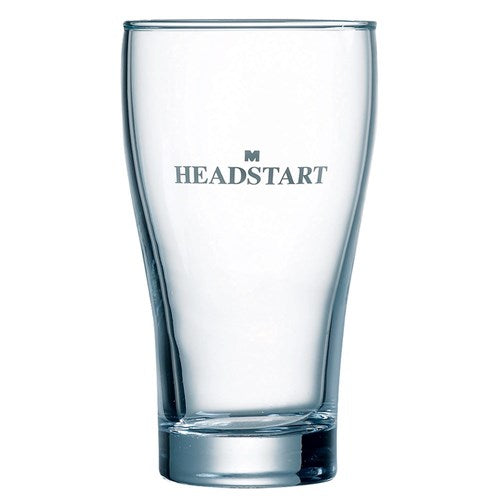 Glass 425ml Conical Headstart x 48