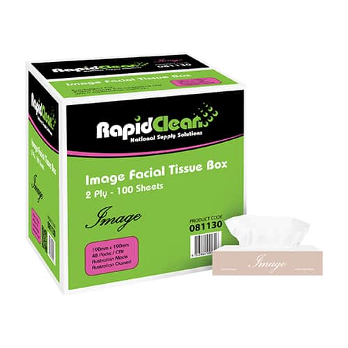 Image Tissues Facial 100s 2ply 48/ctn Rapid