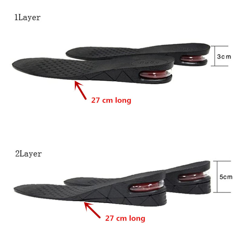 Adjustable Invisible Heightening Insoles - Smart Shop Way