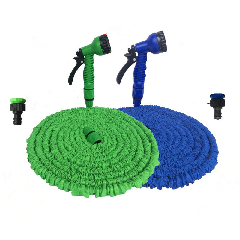 Garden Flexible Hose With Spray Gun - Smart Shop Way
