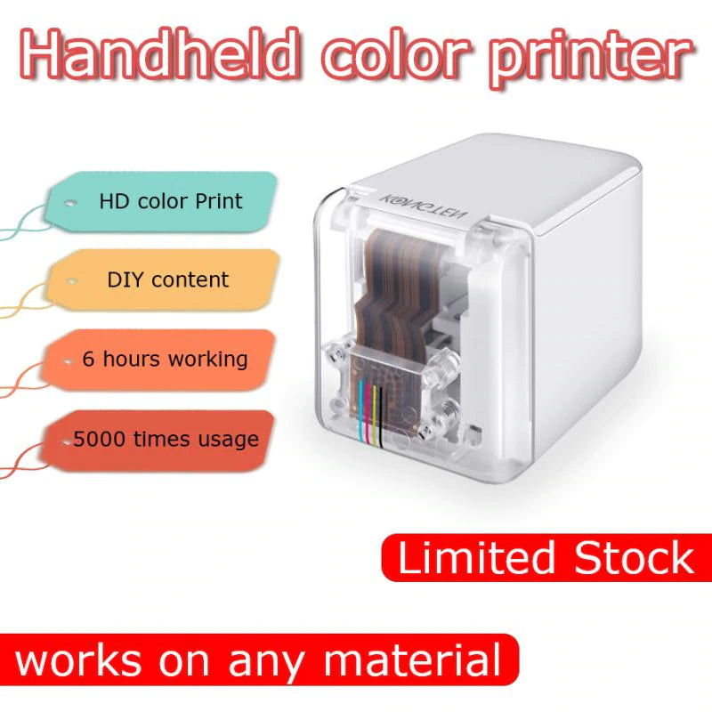 Handheld Inkjet Mini Portable Printer - Smart Shop Way