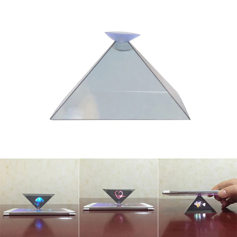 3d Hologram Pyramid Display Projector - Smart Shop Way