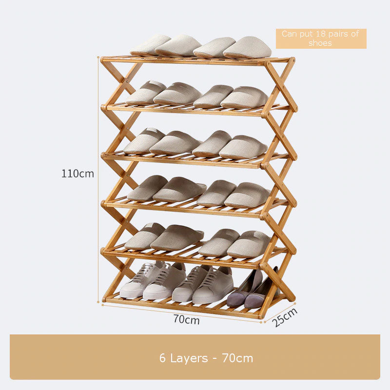 Household Foldable Shoes Rack - Smart Shop Way