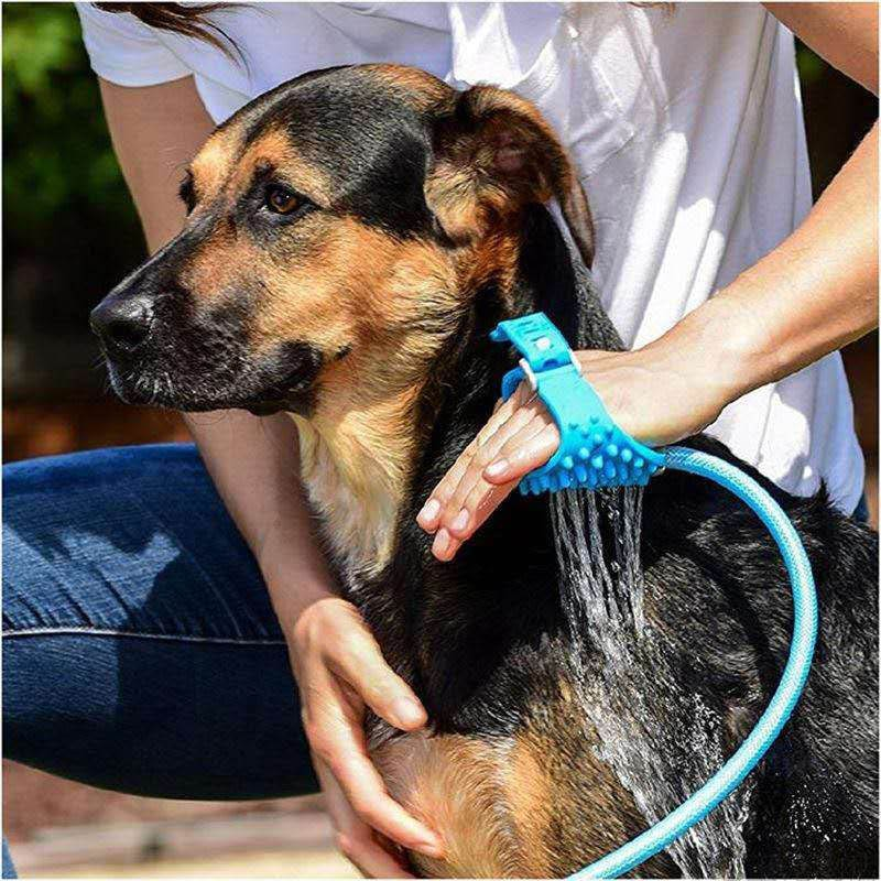 Silicone Pet Bathing Tool Comfortable Massager - Smart Shop Way
