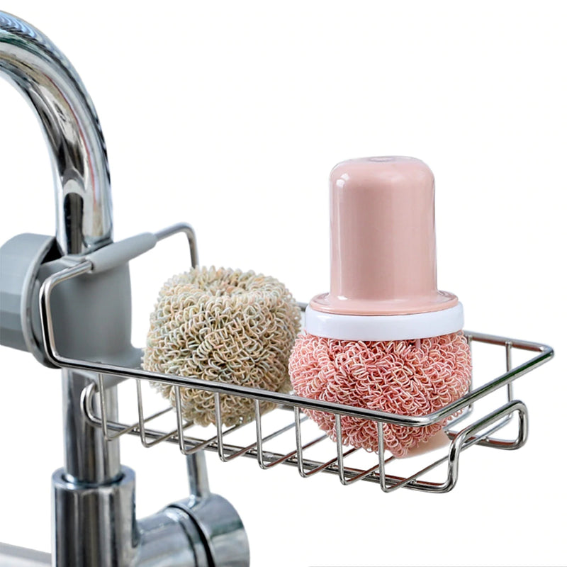 Stainless Steel Faucet Rack - Smart Shop Way