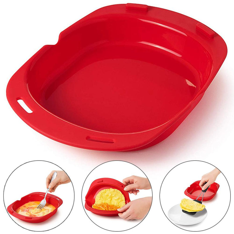 Microwave Oven Silicone Egg Omelette Roll - Smart Shop Way