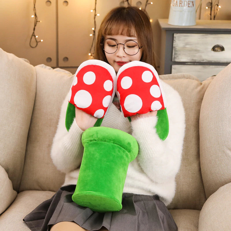 Super Mario Bros Slippers Piranha Decoration - Smart Shop Way