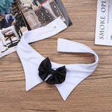 Men's Waiter Lingerie Open Back Tuxedo with Bow Tie Collar Bracelets - Smart Shop Way