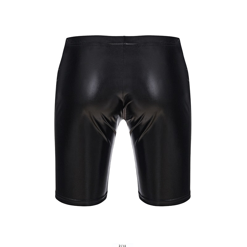Patent Leather Legging with Penis Shaft - Smart Shop Way