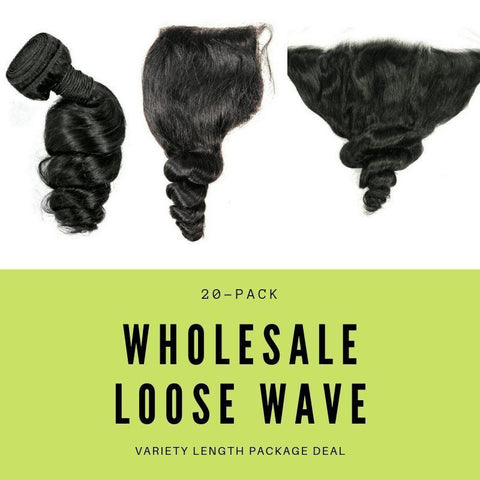 Brazilian Loose Wave Variety Length Package Deal - Smart Shop Way