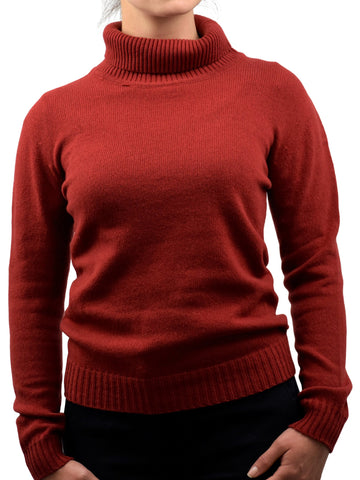 Turtleneck in 100% regenerated cashmere - Woman | Dalle Piane Cashmere