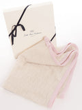 Blanket With Edge 100% Cashmere | Dalle Piane Cashmere