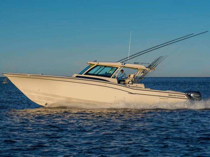 First Look: Grady-White 45-Foot Canyon 456 Luxury Sportfishing Yacht