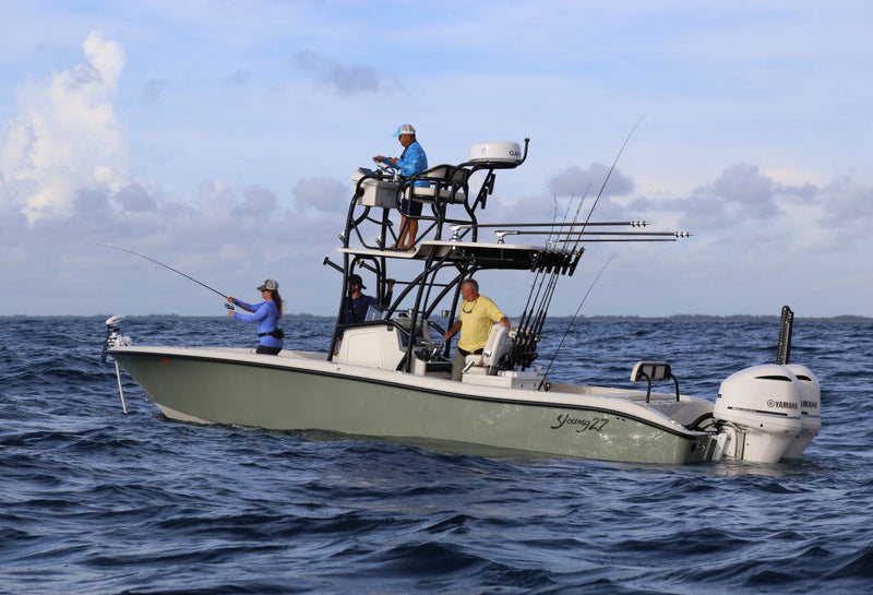 Boat Review – Young 27 Florida Sportsman Editor