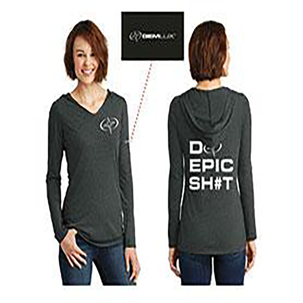 Women's Long Sleeve Epic on Back Hoodie