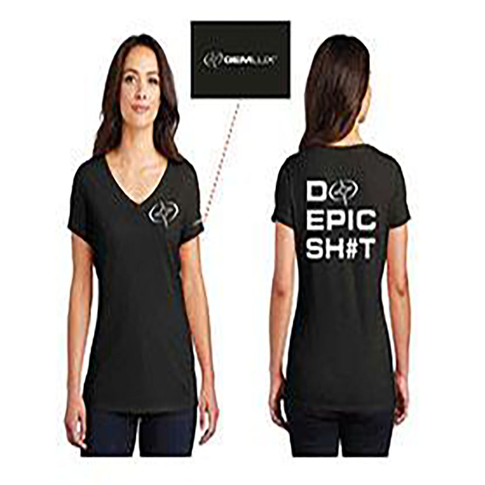 Women's Short Sleeve Epic on Back Shirt