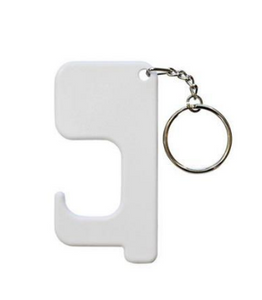 Sublimation Germ Free Tool Keyring | Blank Door Opener | Door Grabber | Sublimation Ready