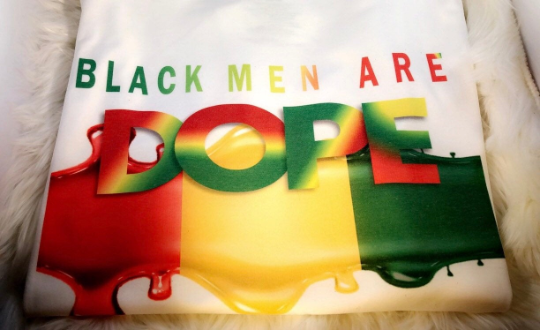 DOPE African Color - Splash (Screen Print Iron on Transfer Sheet ONLY)