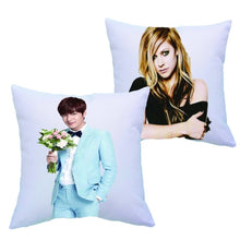 Load image into Gallery viewer, Polyester White Sublimation Pillow Case