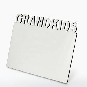 Sublimation MDF Frames (Grad, Love, 2021, DAD, MOM, SENIOR, GRANDKIDS)
