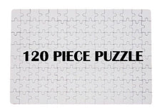 Load image into Gallery viewer, A4 or A5 Blank Sublimation puzzle Jigsaw