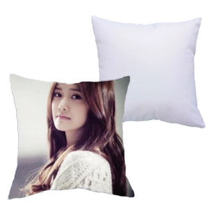 Polyester White Sublimation Pillow Case