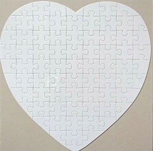 A4 or A5 Blank Sublimation puzzle Jigsaw