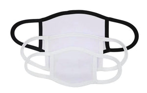 Sublimation Face Mask (20 pack bundle)