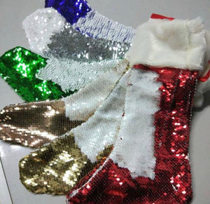 Sequin Sublimation Christmas Stocking