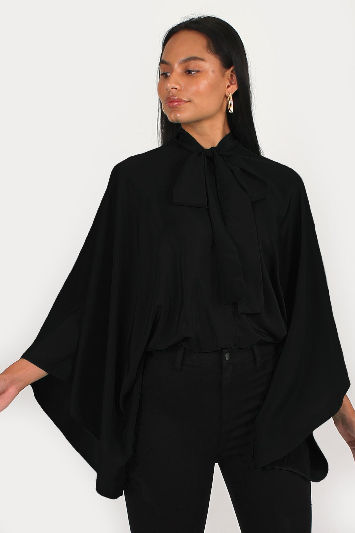 Romeo Blouse in black